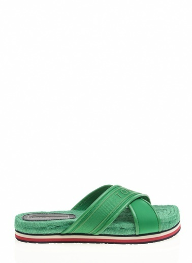 Tommy Hilfiger Kadın Colorful Tommy Flat S Sandalet FW0FW04159 Renkli